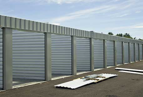 storage unit construction for investments